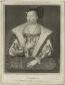 James V of Scotland, by Silvester Harding, or by  Edward Harding, published by  Isaac Herbert - NPG D24202