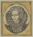 probably Mary (née Rogers), Lady Harington, by or after Simon de Passe - NPG D31629