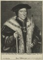 Thomas Howard, 3rd Duke of Norfolk, by Lucas Vorsterman, after  Hans Holbein the Younger - NPG D24214