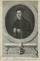 Cuthbert Tunstall ('Cuthbertus Tonstall Episcopus Dunelmensis'), by Paul Fourdrinier - NPG D24270
