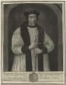 Richard Foxe, by John Faber Sr, after  Johannes Corvus - NPG D24273