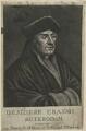 Desiderius Erasmus, after Unknown artist - NPG D24301
