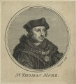 Sir Thomas More, by Charles Grignion, after  Hans Holbein the Younger - NPG D24311