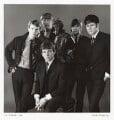 The Animals (John Steel; Chas Chandler; Eric Victor Burdon; Dave Rowberry; Hilton Stewart Paterson Valentine), by David Wedgbury - NPG x47355