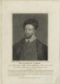 Sir Nicholas Carew, by William Taylor, published by  Robert Wilkinson - NPG D24324