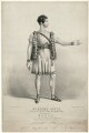 Henry Thomas Betty as Rollo in 'Pizarro', by George Edward Madeley, published by  Joseph Onwhyn, after  F. Onwhyn - NPG D31735