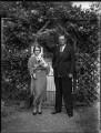 Esther Sarah (née Whitmey), Lady Fairey; Sir (Charles) Richard Fairey, by Bassano Ltd - NPG x151691