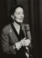 Valerie Hobson, by Walter Hanlon - NPG x129525