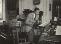 Yehudi Menuhin and (Edward) Benjamin Britten, by Kurt Hutton (Kurt Hubschman) - NPG x15236