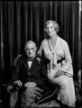 Sir Percy Vincent, 1st Bt; Christine Emily (née Board), Lady Vincent, by Bassano Ltd - NPG x151710