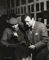 Lionel Bart; Frank Norman, by Ida Kar - NPG x129545