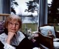 Catherine Cookson, by Chris Hay - NPG x29578