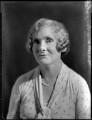 Christine Emily (née Board), Lady Vincent, by Bassano Ltd - NPG x151711