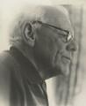 Malcolm Muggeridge, by Nicolo Vogel - NPG x21434