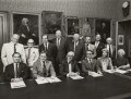 Trustees and Senior Staff of the National Portrait Gallery, by Conrad Hafenrichter - NPG x129560