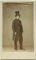Granville George Leveson-Gower, 2nd Earl Granville, by Caldesi, Blanford & Co - NPG x1554