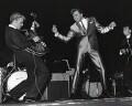 Billy Fury with 'The Tornados' (Heinz (Heinz Burt); George Bellamy), by Harry Hammond - NPG x15533
