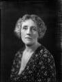 Helen Gunning Walker (née Waters), Lady Edgeworth-Johnstone, by Bassano Ltd - NPG x151747