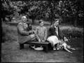 The Ironside family, by Bassano Ltd - NPG x151755