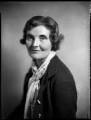 Mariot Ysobel (née Cheyne), Lady Ironside, by Bassano Ltd - NPG x151757