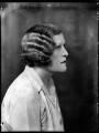 Enid Hester Nina (née Homan-Mulock), Lady Nutting, by Bassano Ltd - NPG x151760