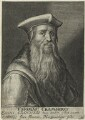 Thomas Cranmer, possibly by Willem de Passe - NPG D24937
