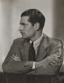 Laurence Kerr Olivier, Baron Olivier, by Dorothy Wilding - NPG x46504