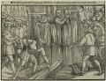 The burning of John Bradford and John Leaf, by Unknown artist - NPG D24959