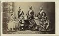 Christian IX, King of Denmark and his family, by Georg Emil Hansen - NPG x74402