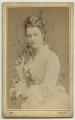 Georgina Elizabeth Ward (née Moncreiffe), Countess of Dudley, by Adèle - NPG x10692