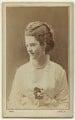 Georgina Elizabeth Ward (née Moncreiffe), Countess of Dudley, by Adèle - NPG x10693