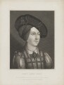 Anne, Queen of Hungary wrongly identified as Lady Jane Grey, by Robert William Sievier, and  John Brydone, after  Hans Maler - NPG D24992