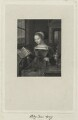 Called Lady Jane Grey, by Thomas Anthony Dean, after  Lucas de Heere - NPG D24995