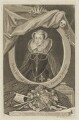 Mary, Queen of Scots, by George Vertue, after  Nicholas Hilliard - NPG D31820