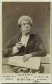 John Lawrence Toole as Serjeant Buzfuz in 'Bardell v. Pickwick', by Ovinius Davis - NPG Ax18165