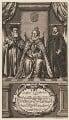 Queen Elizabeth I; Sir Francis Walsingham; William Cecil, 1st Baron Burghley, by William Faithorne - NPG D31830