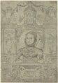 Queen Elizabeth I (Frontispage to Compendiosa totius anatomie delineatio, ære exarata / per Thomam Geminum), by Thomas Gemini - NPG D25026