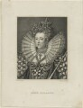 Queen Elizabeth I, by Robert Graves, after  Isaac Oliver - NPG D25041