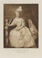 Kathleen Florence May (née Candy), Duchess of Newcastle as Princess Dashkova, by Esmé Collings, photogravure by  Walker & Boutall - NPG Ax41254