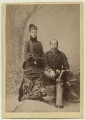 Queen Alexandra; King Edward VII, by Carl Backofen - NPG x39350