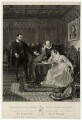 John Knox admonishing Mary Queen of Scots, by John Burnet, after  Sir William Allan - NPG D25066