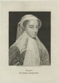Mary, Queen of Scots, by Thomas Trotter, published by  Isaac Herbert - NPG D25071
