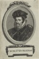 William Cecil, 1st Baron Burghley, after Unknown artist - NPG D25109