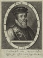 William Cecil, 1st Baron Burghley, possibly by Willem de Passe - NPG D25112