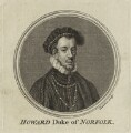 Thomas Howard, 4th Duke of Norfolk, by Thomas Chambers (Chambars), after  Anthonis Mor (Antonio Moro) - NPG D25125