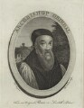 Edmund Grindal, by Thomas Trotter, after  de Vos - NPG D25196
