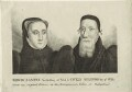 Edwin Sandys and Cicely Wilford his second Wife, possibly by Joseph Halfpenny - NPG D25204