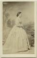 Hon. Margaret Frances Agnes Eyre (née Preston), by Ferdinand Jean de la Ferté Joubert - NPG Ax46857