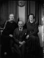 Beatrice Maud (née Woodend), Lady Britten; Sir Edgar Theophilus Britten; Mary Beatrice Verburgh (née Britten), by Bassano Ltd - NPG x151883