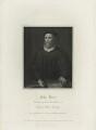 John Knox, by Robert Cooper, published by  Lackington, Hughes, Harding, Mavor & Jones, published by  Longman, Hurst, Rees, Orme & Brown, after  William Hilton - NPG D25282